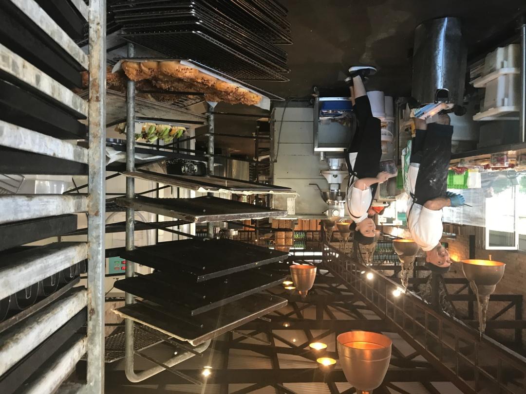 Behind the scenes at Bruns Bakery.