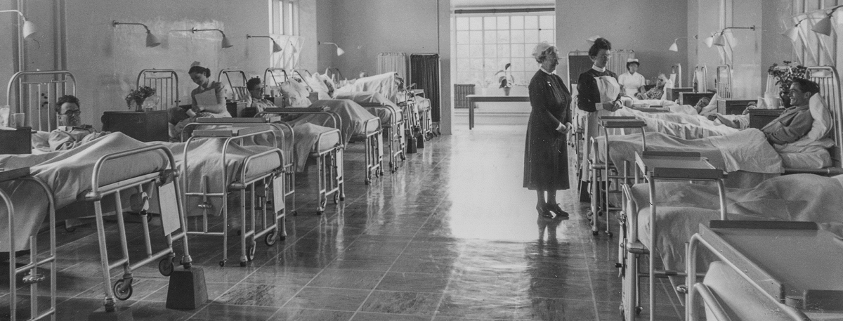 Nursing in the 1950's