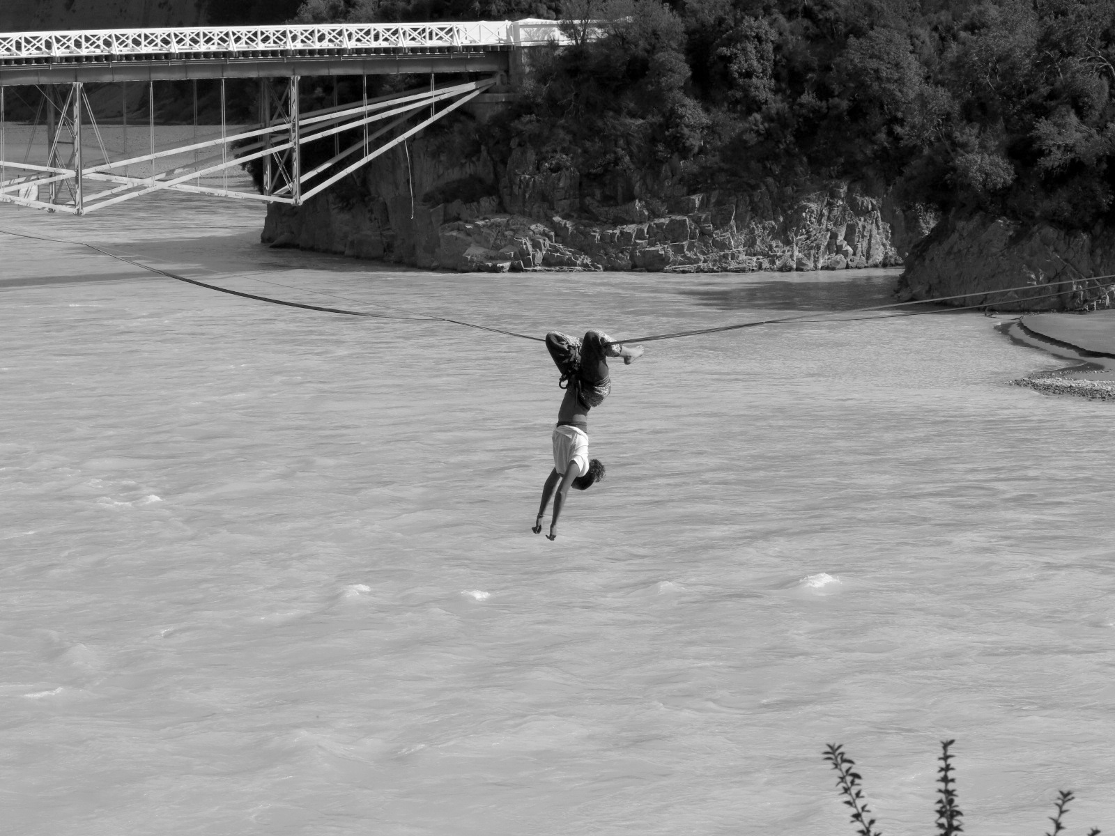 Just hanging out on the Rakaia River.